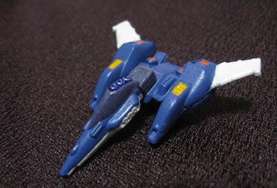 リ・ガズィカスタム(ライトニングガンダムカラー)バック・ウェポン・システム 宇宙戦闘機形態