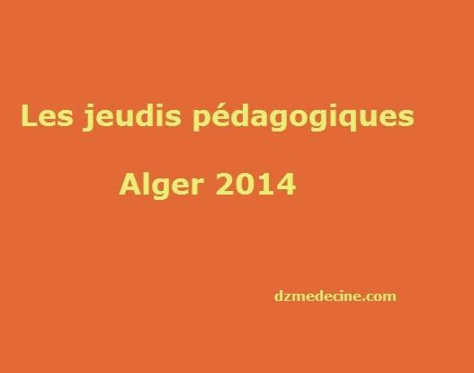 jeudi pedagogique 2014 Alger