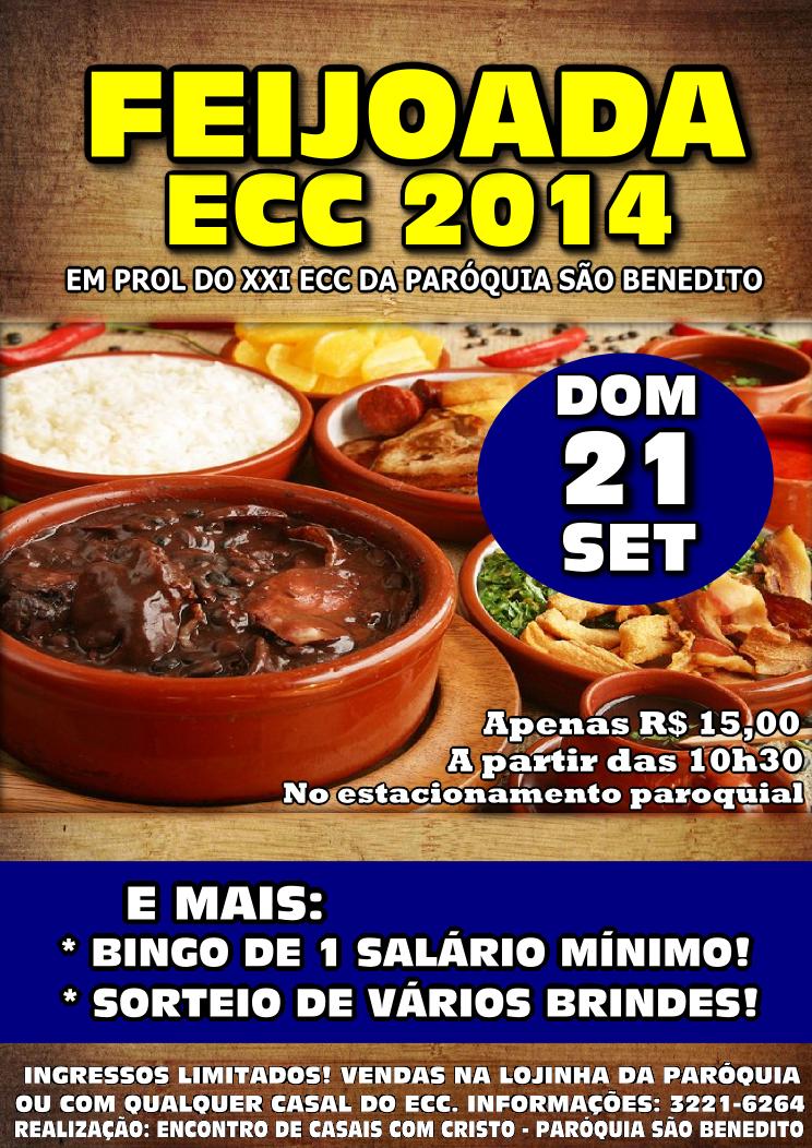 Feijoada ECC 2014: Dia 21/09