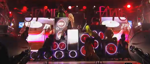 Britney Spears performs 'Big fat bass' on Jimmy Kimmel live | Live performance