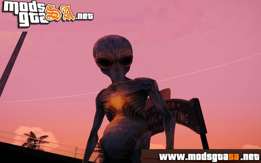 SA - Mod Ser Extraterrestre