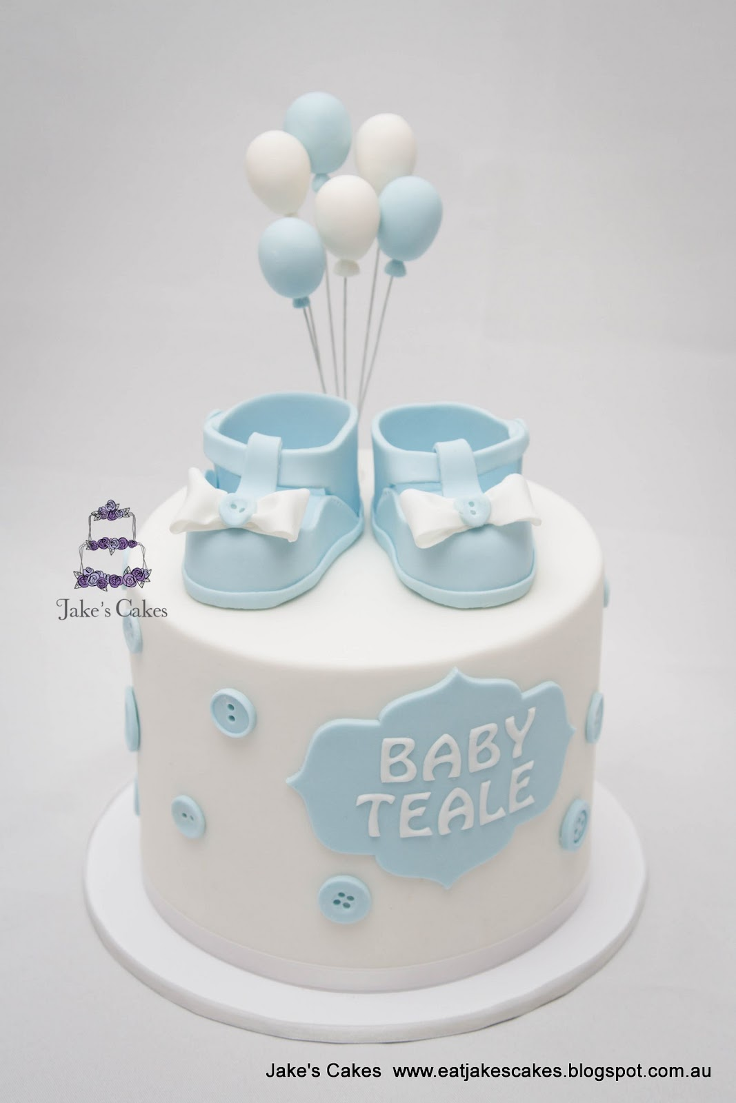 Baby Shower Cake Teddy Bear