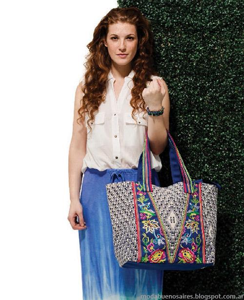 Maxi faldas Ver verano 2015 moda mujer.