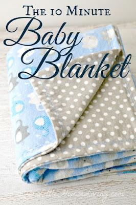 http://www.littlehouseliving.com/10-minute-simple-baby-receiving-blanket-pattern.html
