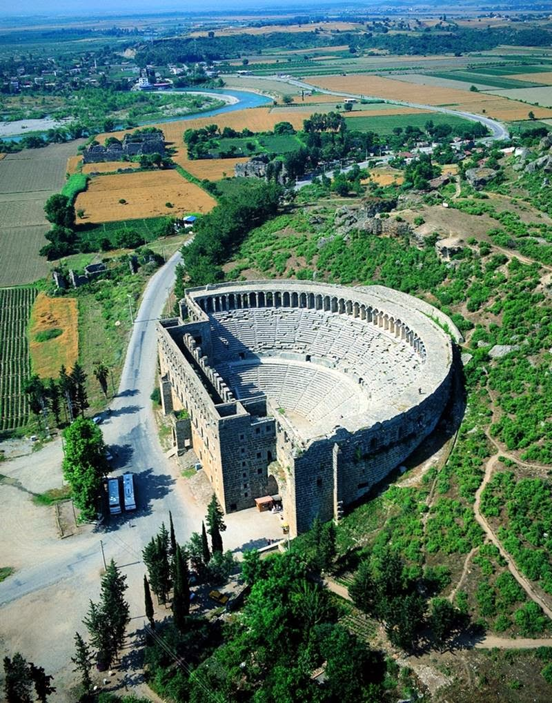 Aspendos Roman Theater  Turkey