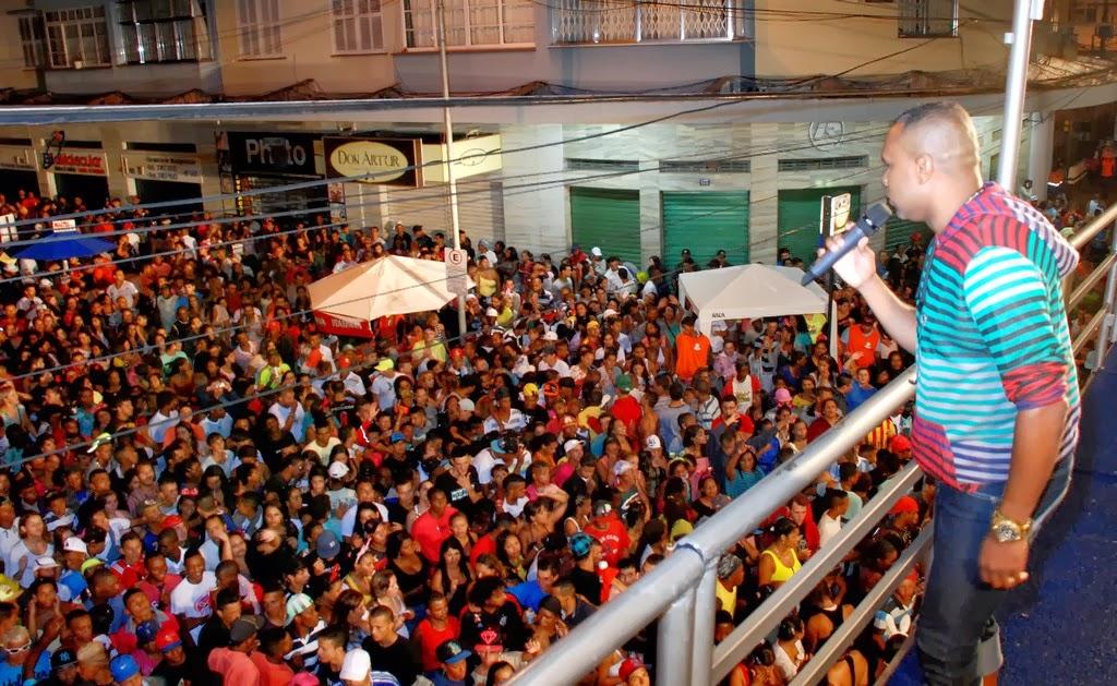 Carnaval 2014 em Teresópolis - Show do Pique Novo anima noite dos teresopolitanos