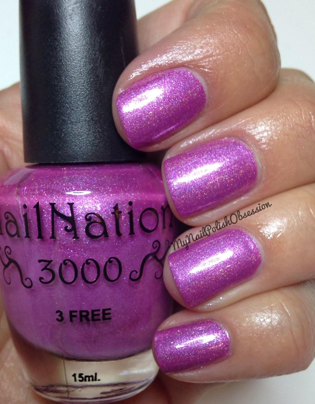 My Nail Polish Obsession: NailNation 3000 SPAM!
