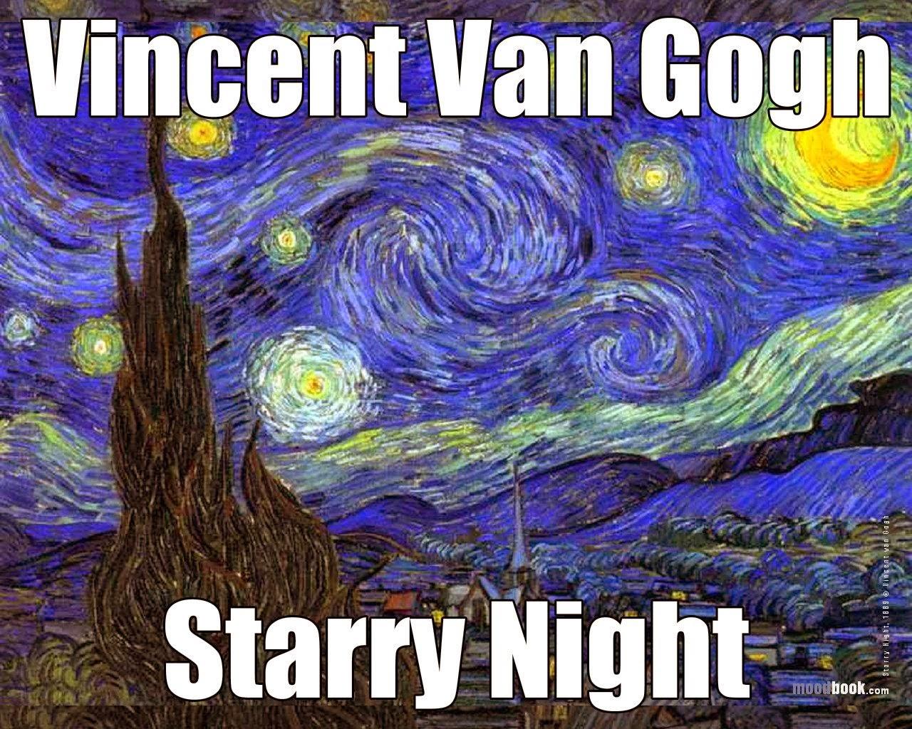 vincent van gogh starry night essay