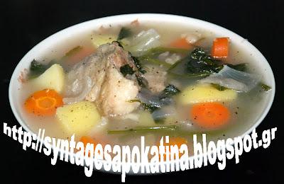 γίδα βραστή σούπα http://syntagesapokatina.blogspot.gr