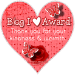 Blog I Heart Award