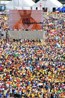 JMJ RIO2013: uma grande graça para os brasileiros.