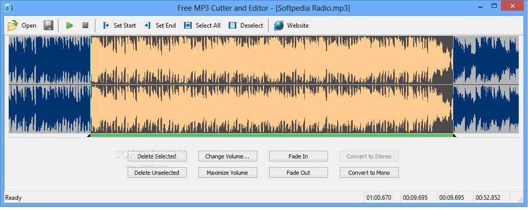 Скачать mp3 editor for free