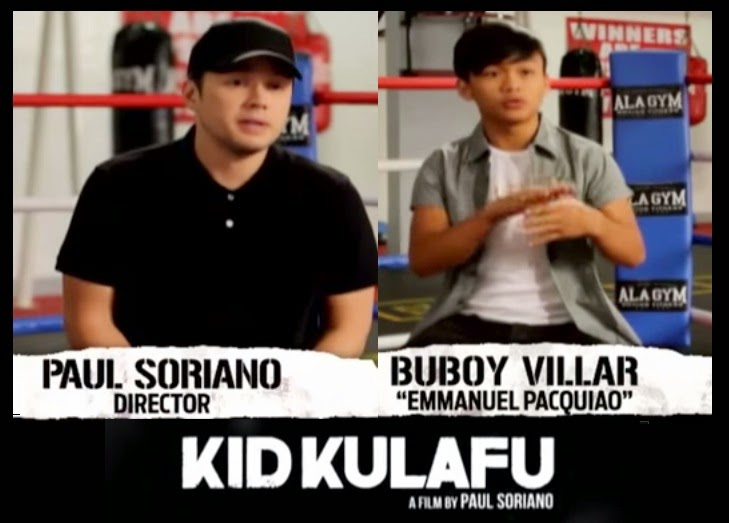 Kid Kulafu Direk Paul and Buboy