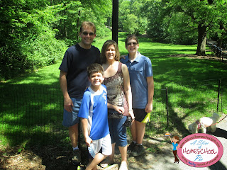 Family Photo at Central Park by ASliceOfHomeschoolPie.com