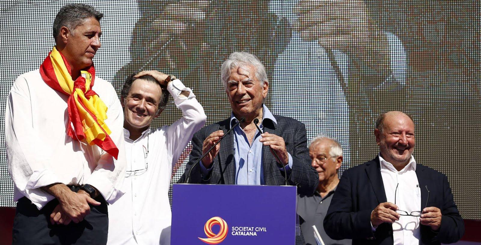 Unidad de España. Barcelona