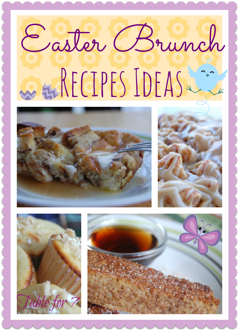 Easter Brunch Recipe Ideas Table For Seven