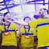 Suécia: Seleção Sub-21 recebida ao som de 'Heroes'