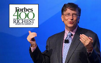 Bill Gates tops 'Forbes' list of richest Americans.