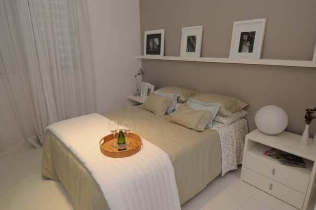 decoracao de interiores quarto de casal:Dosimples ao sofisticado, com criatividade tudo é possível.