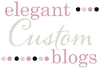 "Premade Blog Design By ""Elegant Custom Blogs"""