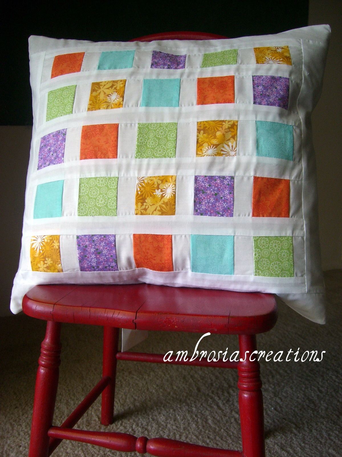 If you are the faithful follower you know by now from my post here and here that I am really excited about pillow covers! With Rae Gun Ramblings tutorial ... & Ambrosia\u0027s Creations: Tutorial: Scrappy Patchwork Pillow Cover pillowsntoast.com