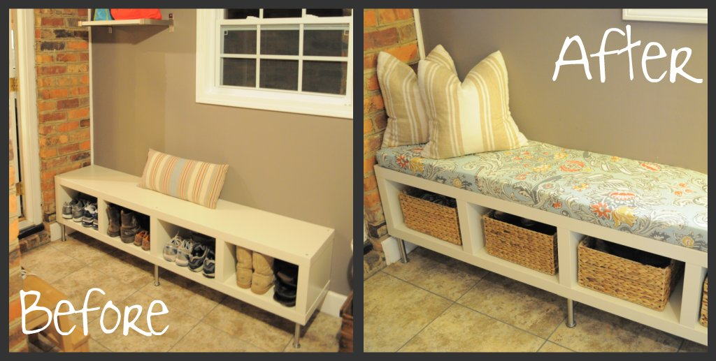 You Me The Kid Laundry Room Bench CushionDIY