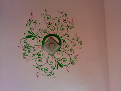Around the Lamp Ceiling wall decal by Kakshyaachitra at Pune
