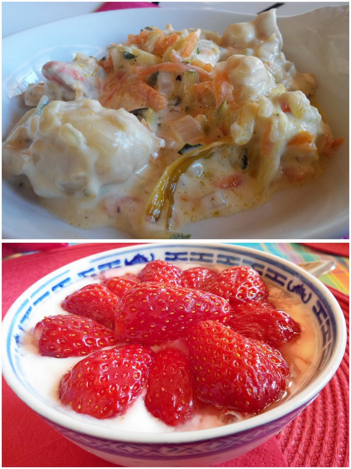 Pâques, St Jacques, fraise, food, bullelodie