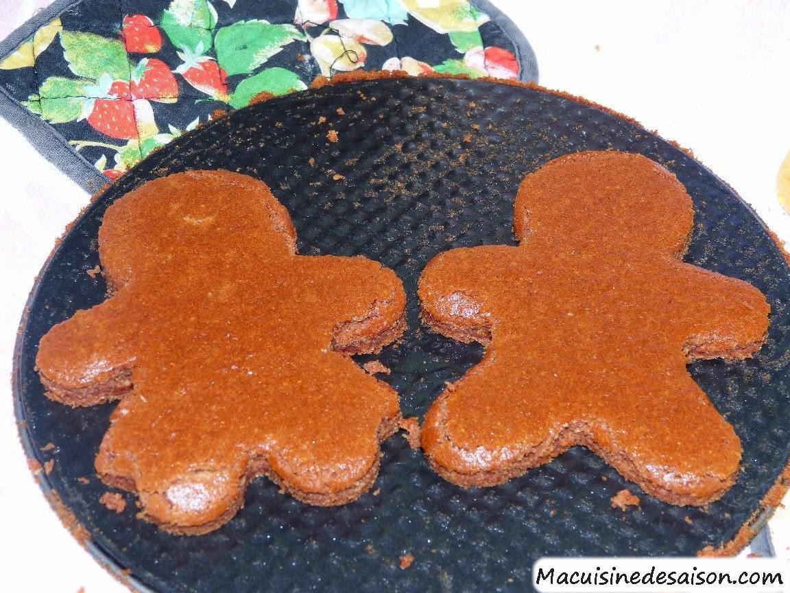 recette des Manneles en pain d'épices