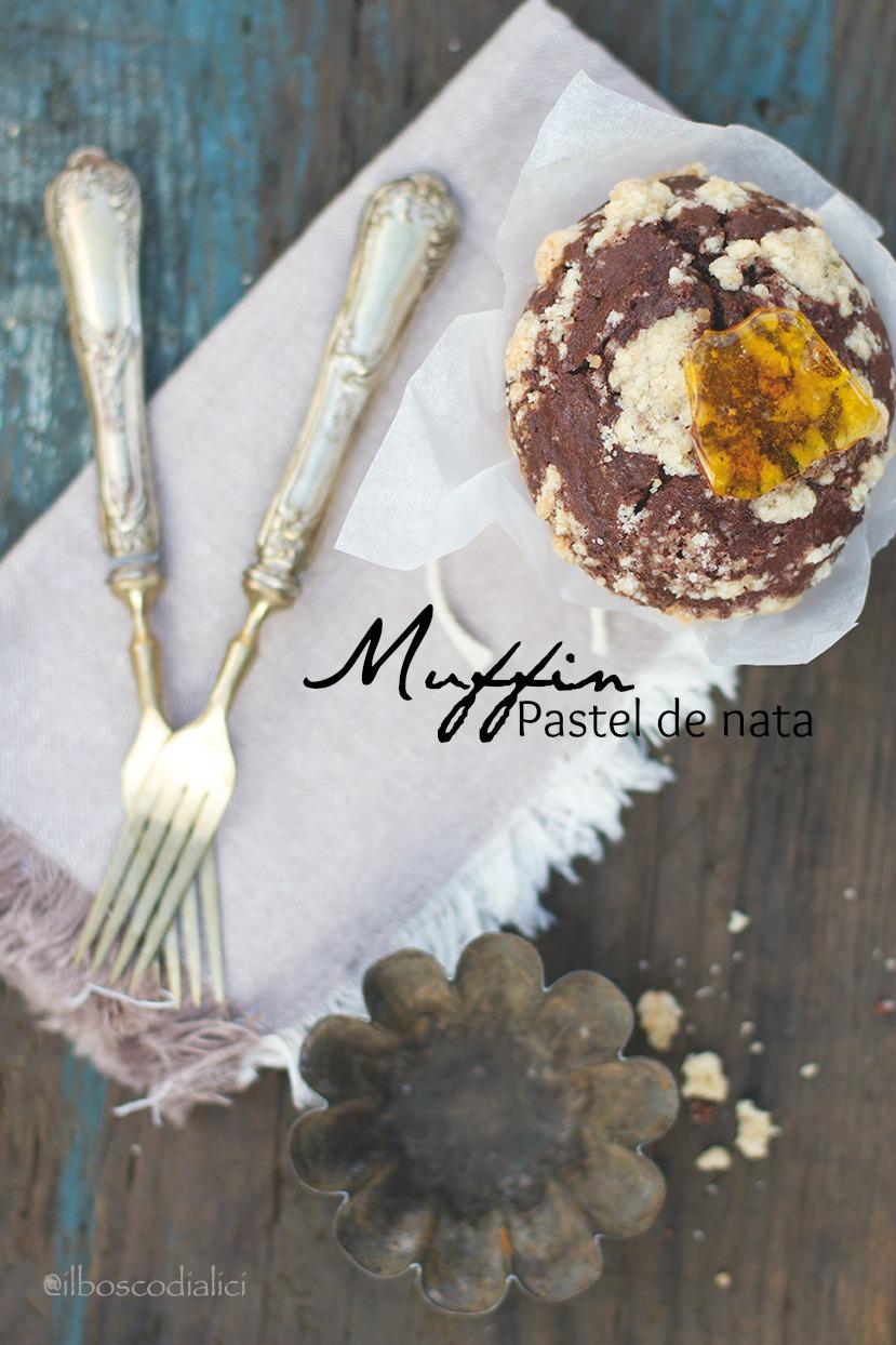 muffin pastel de nata