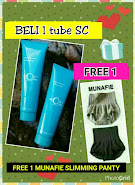 BELI 1 SC DAPAT FREE 1 MUNAFIE SLIMMING PANTY ORIGINAL FROM JAPAN