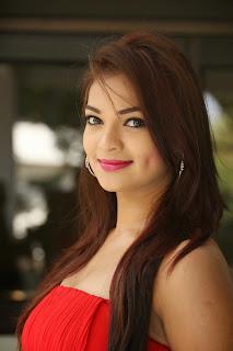Actress Ashwini Latest  Pictures in Short Dress at Vinodam 100 Movie Press Meet  020