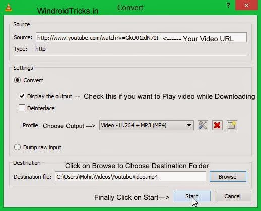Trick to download YouTube videos without IDM