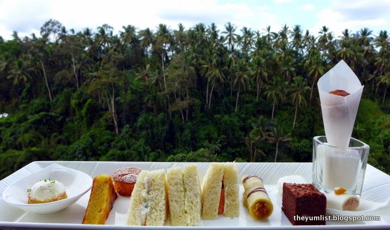 CasCades, High Tea, Viceroy Bali, Ubud