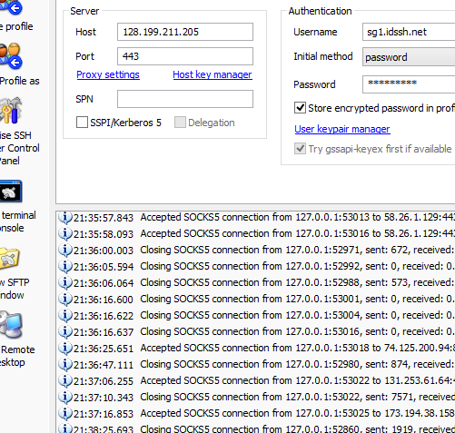 SSH Account Server Singapura (SG.DO) Gratis 21 Oktober 2014