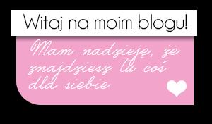 Grafiki na bloga: Witaj na moim blogu