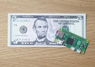 الكشف عن Raspberry Pi Zero بثمن 5 دولارات فقط !