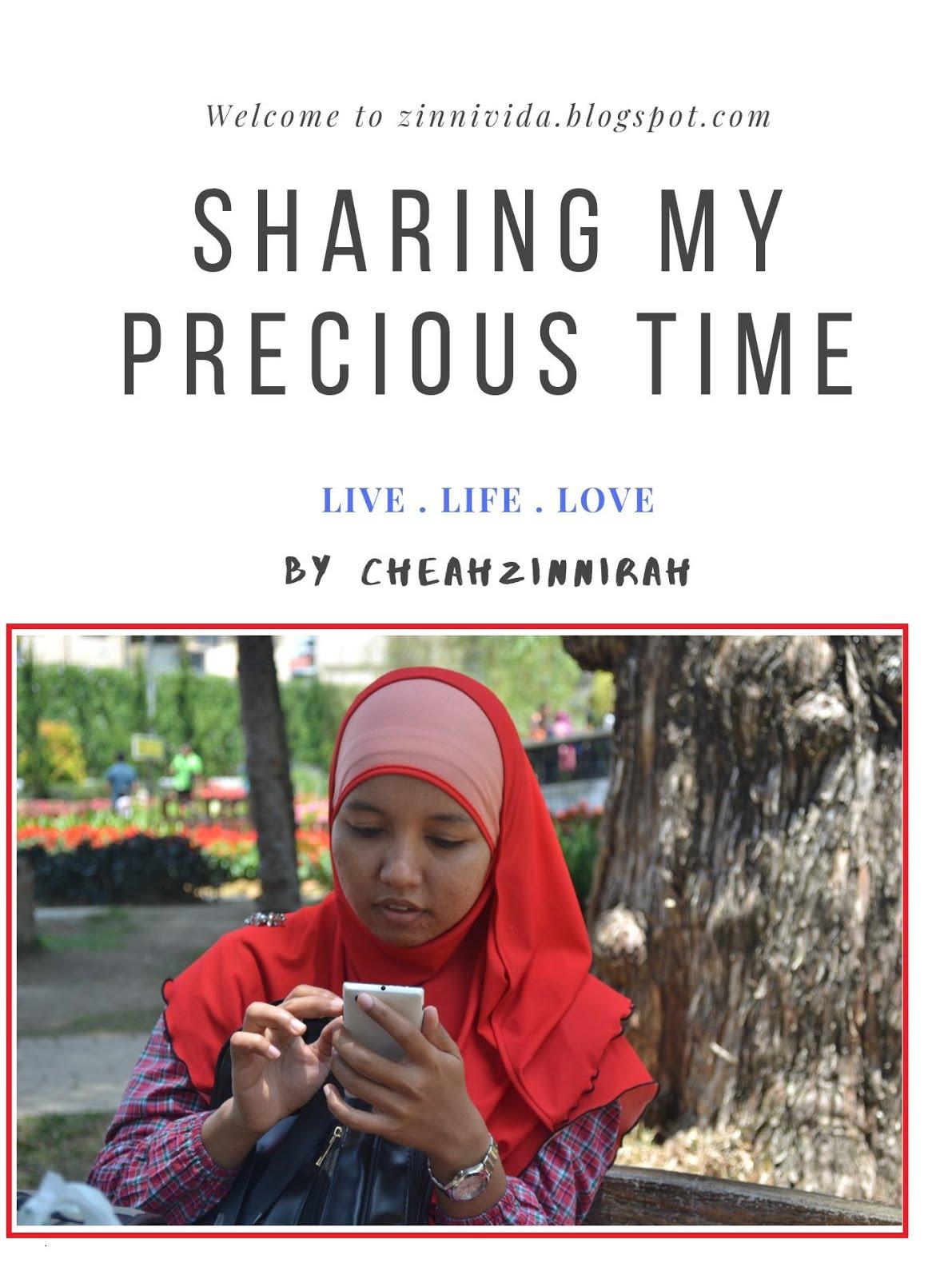 Sharing My Precious Time