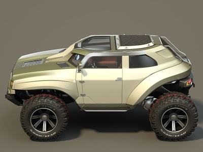 Hummer concept car