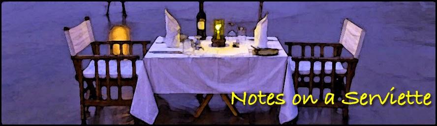 Notes on a Serviette