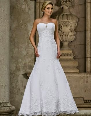 Wedding dresses there are several designs for wedding dresses simple wedding dress white wedding dress afford different from the others how delicious white color when junglespirit Gallery