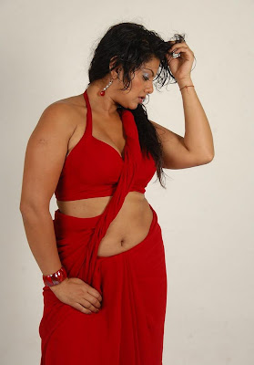 swathi varma ,armpit in red saree photo gallery