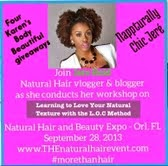 Natural Hair and Beauty Expo- Orlando FL.