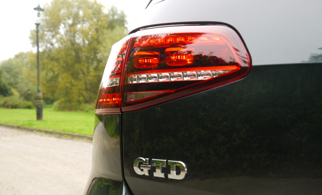 Volkswagen Golf 7 GTD rear LED lamp