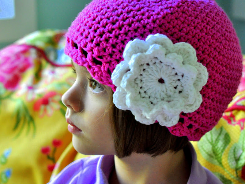 Little Girls Crochet Hat Pattern
