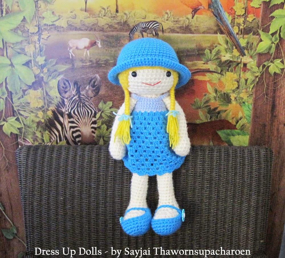 Amigurumi Dress Up Dolls : Dress Up Dolls and Huggy Monkey pictures - Sayjai ...