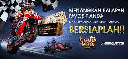 Menangkan Tiket Balapan F1 dan Moto GP dari M88