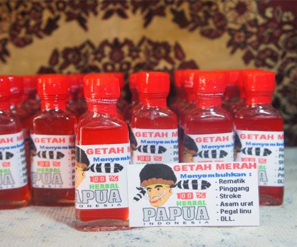 Getah buah merah papua