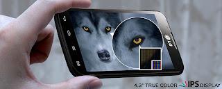LG Optimus L7 II Dual SIM IPS LCD 4.3 inch