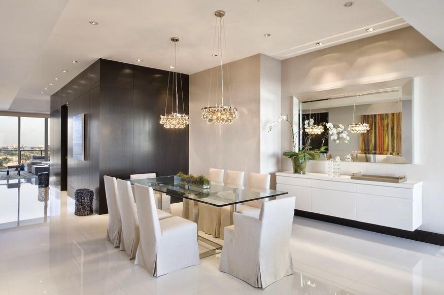 Como Decorar Un Salon Comedor Con Una Mesa De Cristal
